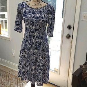 LuLaRoe short sleeve dress, sz large